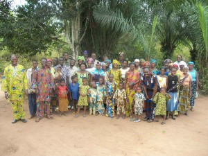 A new village that has recently heard the Gospel