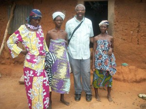 Pastor Washington in Africa